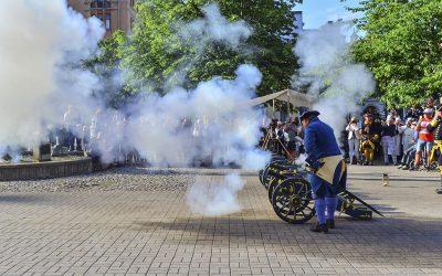 300-årsminnet av rysshärjningarna högtidlighålls