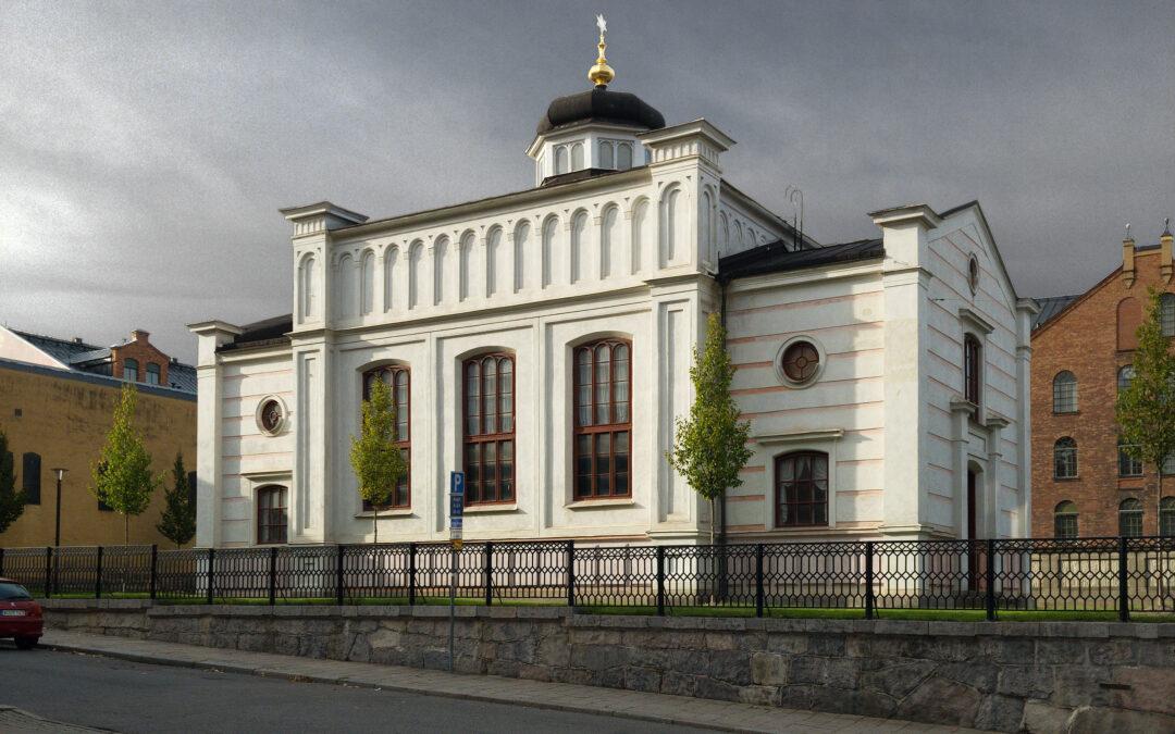 Norrköpings synagoga. Foto: Måns Hagberg/Wikimedia CC-BY-SA-4.0