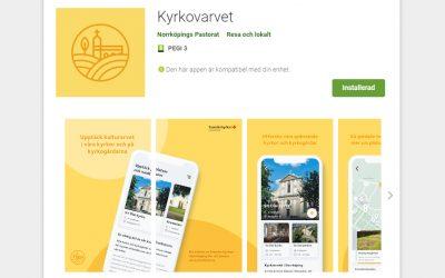 Norrköpings kyrkliga kulturarv i ny app