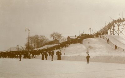 På is och snö i Norrköping för hundra år sedan
