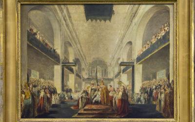 När kungaparet kröntes i Norrköping