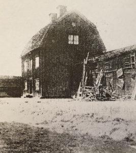 Portvaktsstuga och bostadshus ut mot Varvsgatan