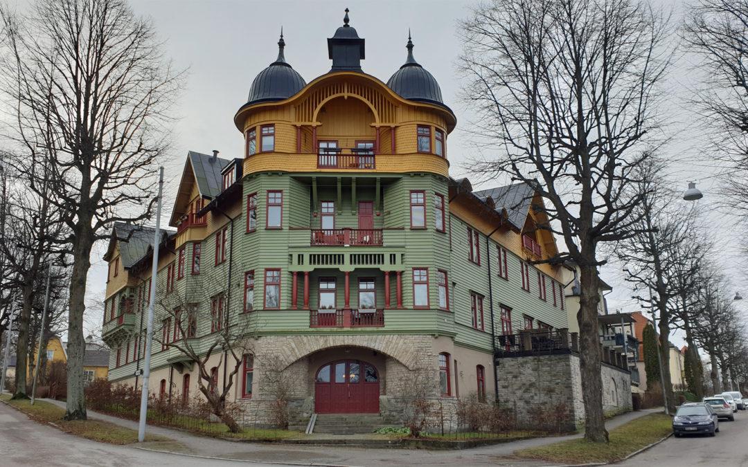 F d Stora pensionatet i Kneippen år 2020. Foto: Peter Kristensson/Klingsbergs Förlag