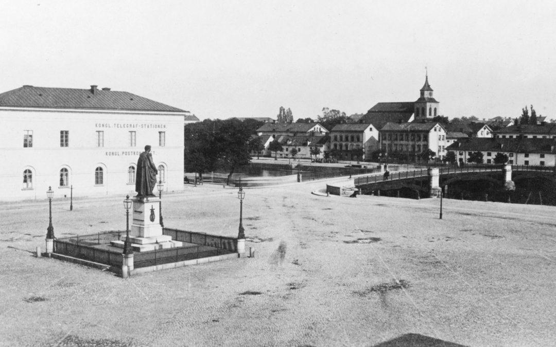 Carl Johans torg. Ur fotosamlingen Swartzens minne, Norrköpings stadsarkiv