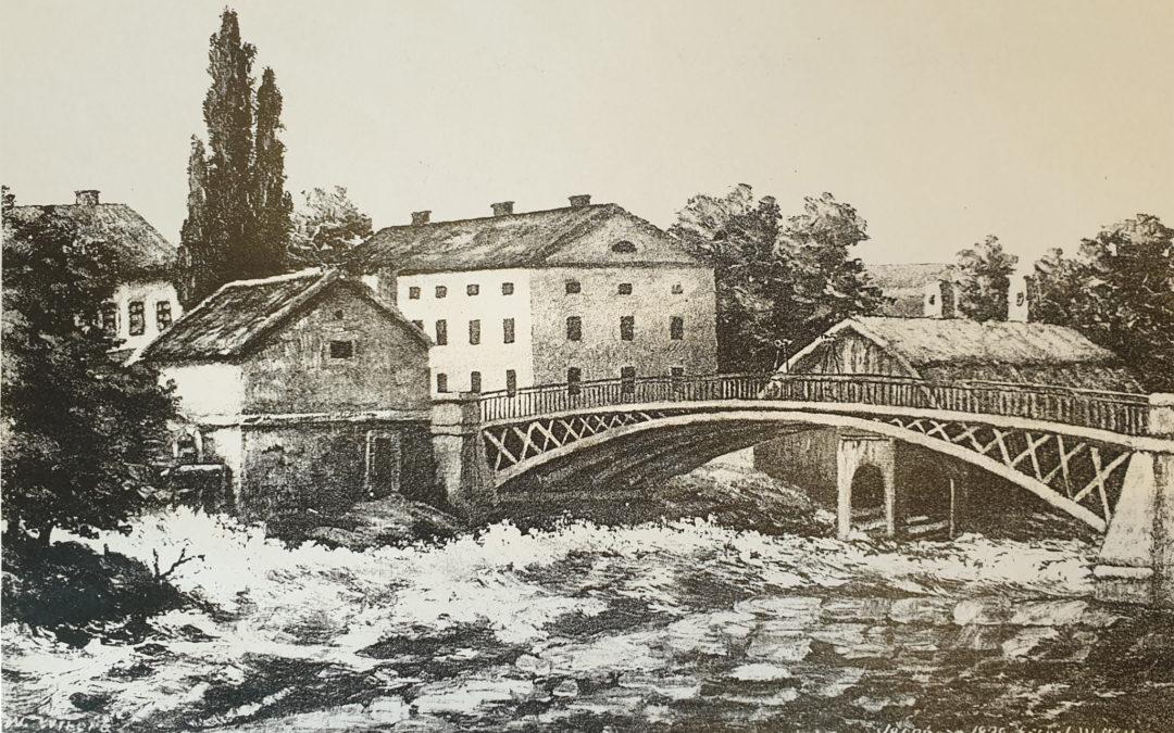 Om Gamlebro år 1839 – med kvarnar och färgeri