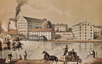 Vantmakaren Petter Speet skapade Drags yllefabrik