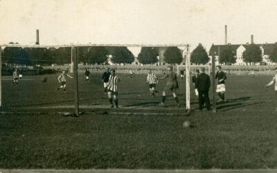 Om den nya sporten fotboll i Norrköping