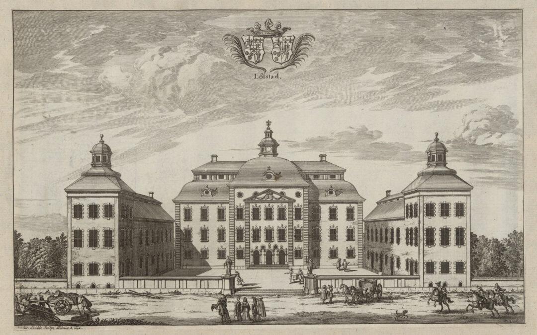 På Löfstad slott har tiden stått stilla i nästan hundra år