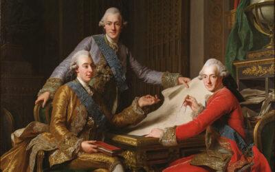 Tre prinsar på riksdagen i Norrköping